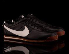 Кроссовки Nike Cortez Classic Og Leather (черный/белый/коричневый)