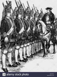 King George, Friedrich Wilhelm I, Stock Foto, Abstract, Artwork, Pictures, King Henry, Woodblock Print, Army