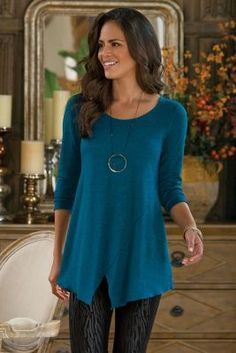Toulouse Tunic - Women's Tunic, Tunic Top | Soft Surroundings