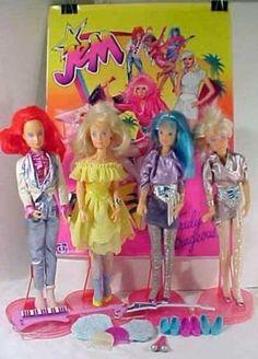 Jem dolls #vintage #toy #doll #1980