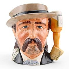 Royal Doulton Odd-size Character Jug, Wild Bill Hickock D6736, Odd Size