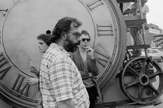 """Francis Ford Coppola with Matt Dillon and Mickey Rourke on the set of """"Rumble Fish"""" — Image by © Christian Simonpietri/Sygma/Corbis, September 1983 Mickey Rourke, 80s Movies, I Movie, Mafia, Matt Dillon, Francis Ford Coppola, Popular People, Cute Actors, Great Films"""