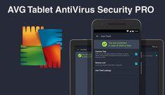 AVG Tablet AntiVirus Security PRO v5.8.0.1 para Tablet é a melhor e mais completa proteção de vírus, malware, spyware em tempo real. Anti-Furto incluso!