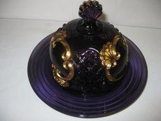 Vintage EAPG Riverside Glass Works Croesus by hazeleyesartglassetc