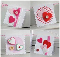 Carte de St-Valentin à faire soi-même pour donner du bonheur