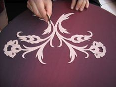 how to make golden turkish embroidery
