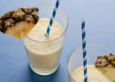 Start your day with a little taste of the tropics! This smoothie is creamy, delicious, and full of Vitamin C.