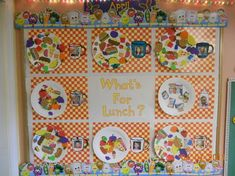 Whats for lunch bulletin board