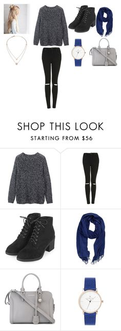 """""""Cold Cold Cold"""" by norishaa on Polyvore featuring Toast, Topshop, La Fiorentina, Alexander McQueen and Michael Kors"""