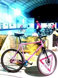 """Bern's Bike by """"PBJ BikePolo Bikes & Accesories"""". Clickeando sobre la imagen vas directo al Facebook de PBJ!"""