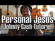 Johnny Cash - Personal Jesus with LYRICS HD - YouTube