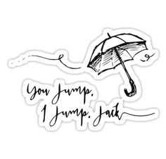 """Gilmore Girls- You jump, I jump.."" Stickers by KikkaT 