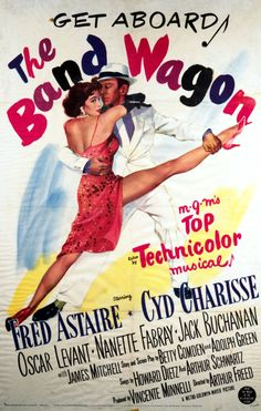 'The Band Wagon' dir. by Vincente Minnelli, 1953, starring Fred Astaire and Cyd Charisse.