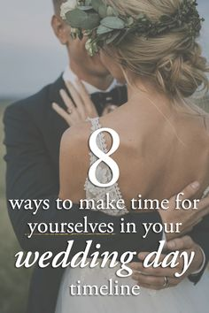 8 Ways to Make Time for Yourselves in Your Wedding Day Timeline | Photo by Page & Holmes Photography