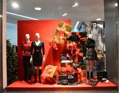 Vetrine Di Natale Abbigliamento.63 Fantastiche Immagini Su Xmas Esempi Vetrine Natalizie