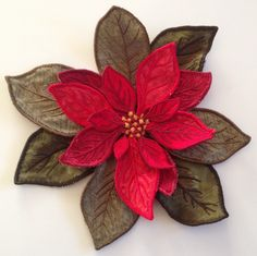 """From Husqvarna Viking's embroidery card """"3D Flowers"""""""