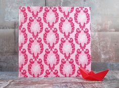 Hochzeitsgästebuch, Gästebuch zur Hochzeit, Gästebuch zur Hochzeit, Gästebuch, Taufe, Hochzeit, pink Gästebuch, pink, Ornamente