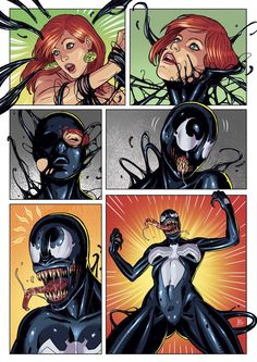 She Venom Transformation - Commission by Messier61