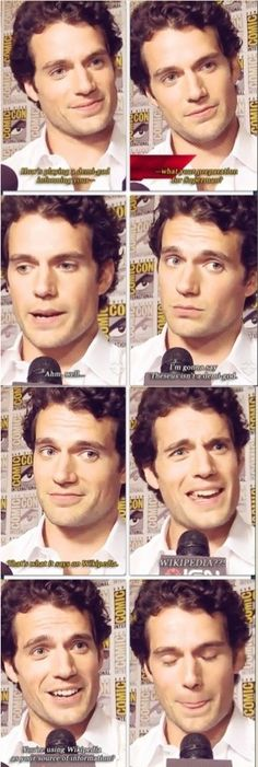 Probably my favorite interview.  Absolutely hilarious  GIF click to see.   amancanfly.tumblr.con❤️