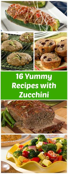 Healthy and easy ways to transform zucchini. From main dishes to sides and desserts, we've found a way to put zucchini in anything! These zucchini recipes are easy to make and so yummy!