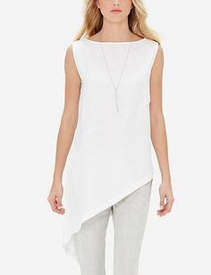Asymmetrical Tunic Top from THELIMITED.com