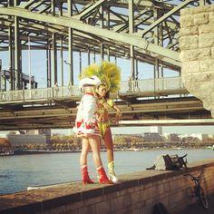 Cologne meets Rio, preparing for carnival, Köln / Cologne, Germany