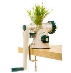 Faites vous-même vos jus d'herbe avec l'extracteur de jus manuel Healthy Juicer, fonctionne sans électricité de partout ! En vente sur la boutique Nature et Vitalité.