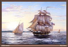Salem Harbor, Tall Ships