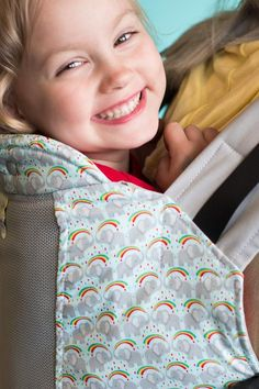 d74fa7c1a49 Elefun w  Koolnit- Toddler Soft Structured Child Carrier - Kindercarry