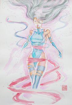 Psylocke by David Mack