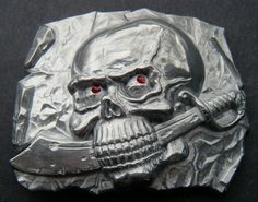 SEA PIRATES SKULL SKELETON SHIP FLAG SWORDS KNIFE COOL BOY'S BELT BUCKLE BUCKLES #skull #skullbuckle #skullbeltbuckle #skullwithknifeinmouth #beltbuckles #buckle #coolbuckles