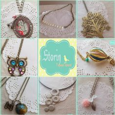 [new] @ storin // lots of necklaces to choose // contact us through mail storin@sapo.pt or facebook http://www.facebook.com/PequenosTesouros