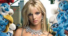 Britney Spears canta el tema de Los Pitufos 2