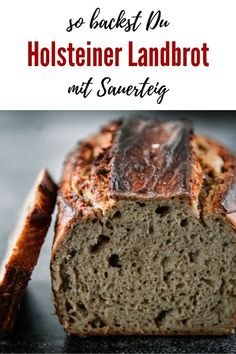 Holsteiner Bauernbrot mit Sauerteig - Kochen macht glücklich Pampered Chef, Recipe Maker, Sourdough Bread, Artisan Bread, Dinner Dishes, Delicious Vegan Recipes, Fabulous Foods, Dinner Rolls, How To Make Bread