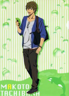 Hiroko Utsumi, Kyoto Animation, Free!, Makoto Tachibana, Pencil Board