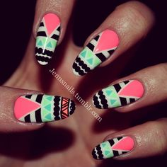 Instagram photo by jennsnails #nail #nails #nailart