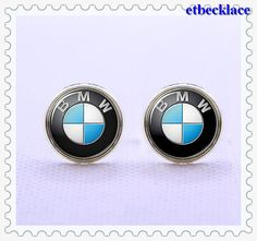 For the Clasic Dad on father's day | CufflinksBMW Car logo  cufflinksMens Gift vintage by etnecklace, $16.99