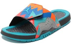 3faadc227897 Air Jordan 7 VII Hydro Slides Sandals Barcelona Day Free Shipping no Tax