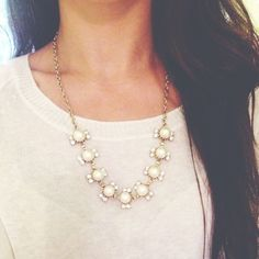 A fresh way to use the classic pearls. #PersonalLeadership #Women