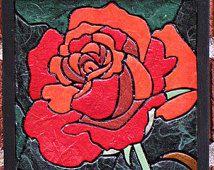 mosaic rose art - Google Search