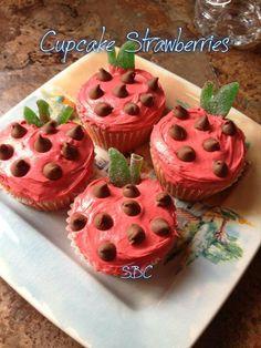 ♥Cupcake Strawberries♥