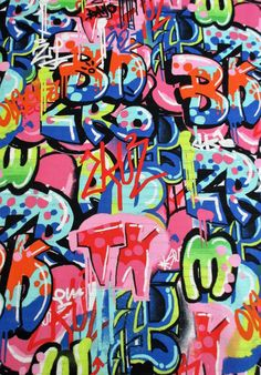 Fabric Tag You're It Bright Multi Urban Graffiti Graffiti Tagging, Graffiti Wall Art, Street Art Graffiti, Graffiti Spray Paint, Tag Street Art, Graffiti Wallpaper Iphone, Graffiti Photography, Graffiti Pictures, Urban Art