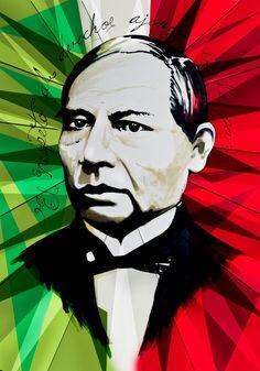 """""""El respeto al derecho ajeno es la paz""""  Natalicio de Don Benito Juárez (1806 - 1872)"""