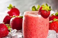 Delicioso smoothie de fresa para bajar de peso, busca más opciones en http://www.1001consejos.com/smoothies-para-bajar-de-peso