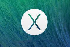 OS X. Waves. Apple. Mavericks. Macworld. Simple. Green & Blue. Minimal. Preview.
