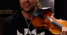 David Garrett is a classically-trained violinist with rock & roll as his inspiration. On his new disc, Rock Symphonies, the German-born musician offer
