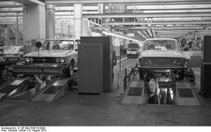 VW K 70 and Type 4 in the factory of Salzgitter
