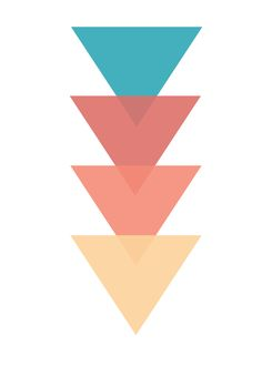 Colors of the Wind Triangles Free Illustration by Whispering Words Design