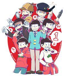 「おそ松さんついったログ」/「mone@ついった」の漫画 [pixiv]