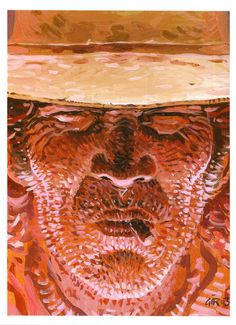 Jean Giraud - Cover painting for Blueberry: The O. Jean Giraud, Manado, Moebius Art, Western Comics, Fantasy Comics, Line Illustration, Science Fiction Art, Psychedelic Art, Conceptual Art